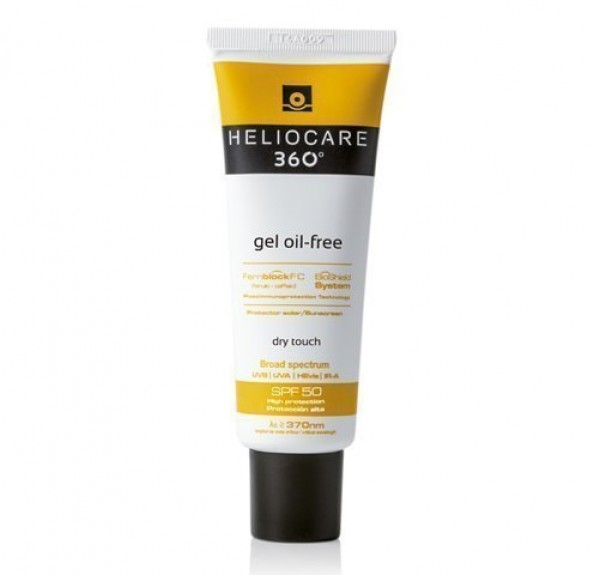 Heliocare 360 Gel Oil-Free Spf 50, 50ml. - Cantabria Labs
