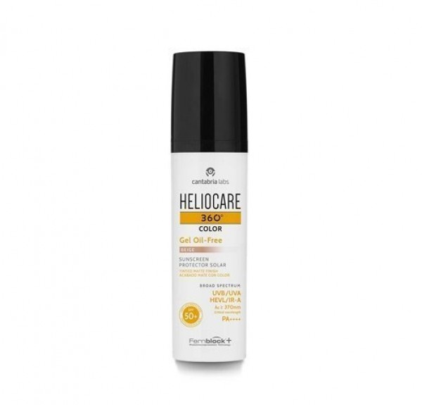 Heliocare 360° Color  Beige Gel Oil Free SPF 50+, 50 ml. - IFC