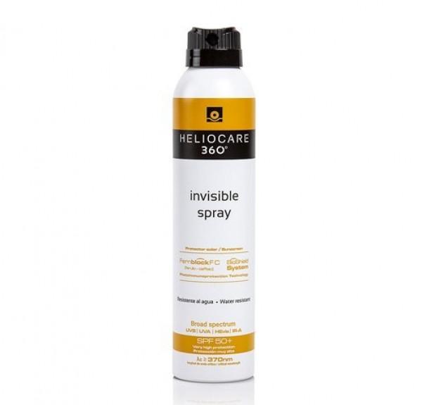 Heliocare 360º Invisible Spray SPF50+, 200 ml. - Cantabria Labs