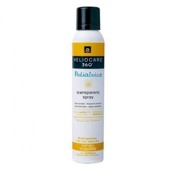 Heliocare 360º Pediatrics SPF50 Transparent Spray, 200 ml.- Cantabria Labs