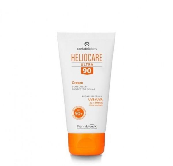Heliocare Ultra SPF 90 Crema Incolora, 50 ml. - Cantabria Labs