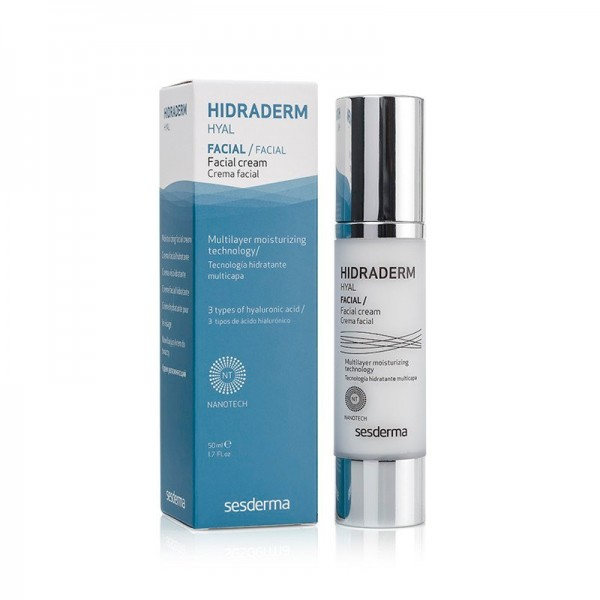Hidraderm Hyal Crema Facial, 50 ml.  - Sesderma