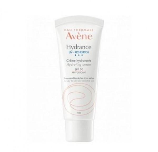 Hydrance UV - Rica Crema Hidratante SPF 30, 40 ml. - Avene