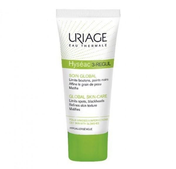 Hyséac 3-Regul Cuidado Global, 40 ml. - Uriage