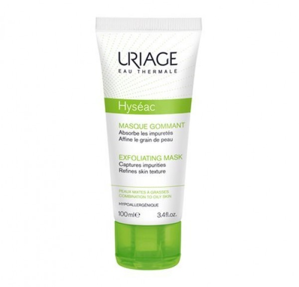 Hyséac Mascarilla Exfoliante, 100 ml. - Uriage
