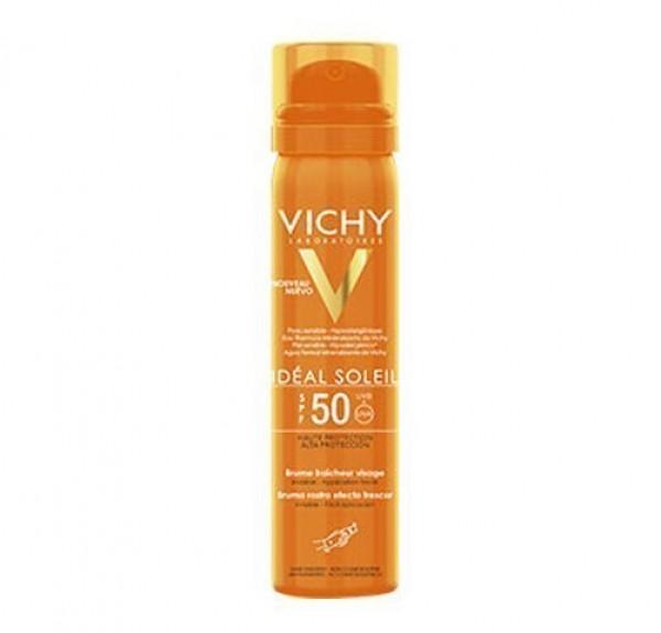 Idéal Soleil Bruma Invisible Rostro SPF 50, 75 ml. - Vichy