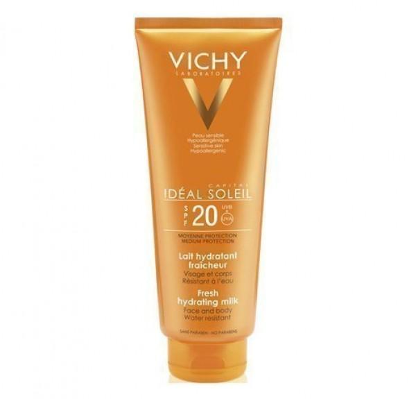 Idéal Soleil Leche Hidratante SPF 20+, 300 ml. - Vichy