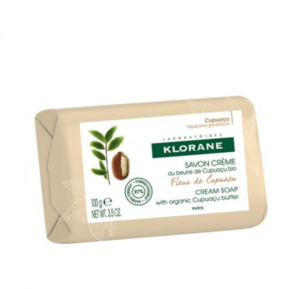 Jabón Crema con Manteca de Cupuacu, 100 ml. - Klorane