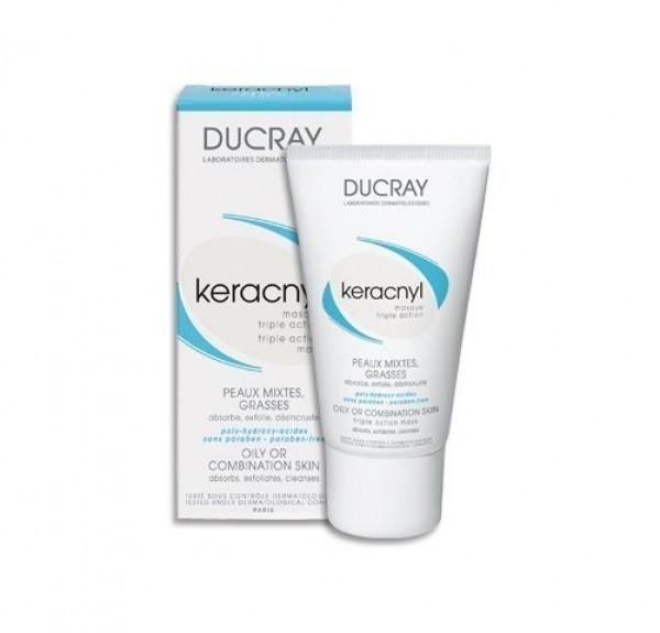 Keracnyl Mascarilla Triple Acción, 40 ml. - Ducray