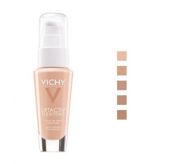 Fondo de Maquillaje Liftactiv Flexiteint nº55 Bronze, 30 ml.- Vichy