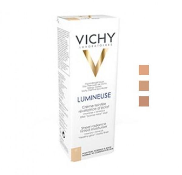 Crema Con Color Luminosa Piel Seca Acabado Mate Color Peche, 30 ml. - Vichy