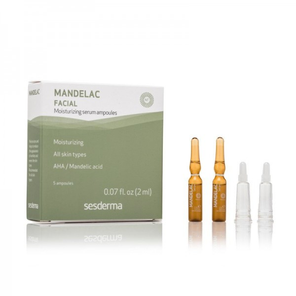 Mandelac Sérum Ampollas, 5 x 2 ml. - Sesderma