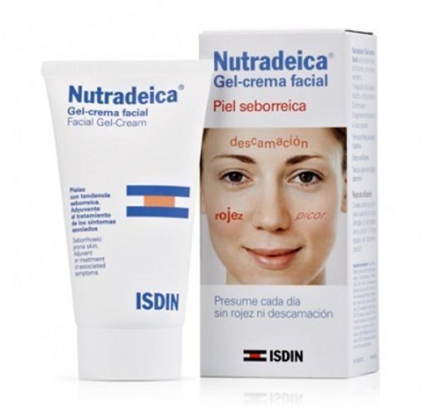 Nutradeica Gel-crema facial Piel seborreica, 50ml. - Isdin
