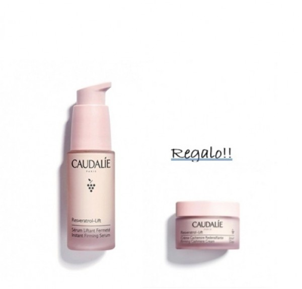 Pack Resveratrol-Lift Sérum Lifting Firmeza + Resveratrol-Lift Crema Cachemire Redensificante, 15 ml. de Regalo! - Caudalie