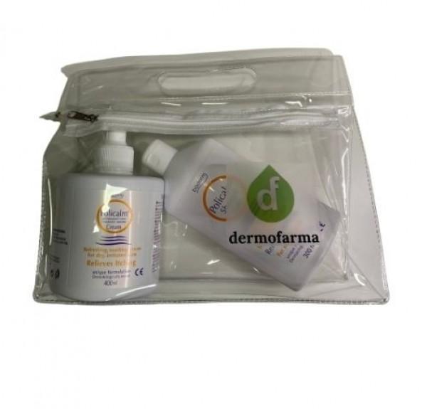 Pack Policalm Crema, 400 ml + Policalm Gel, 300 ml. - Olyan Farma