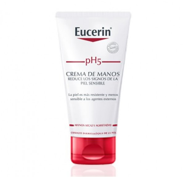 pH5 Skin-Protection Crema de Manos, 75 ml. - Eucerin