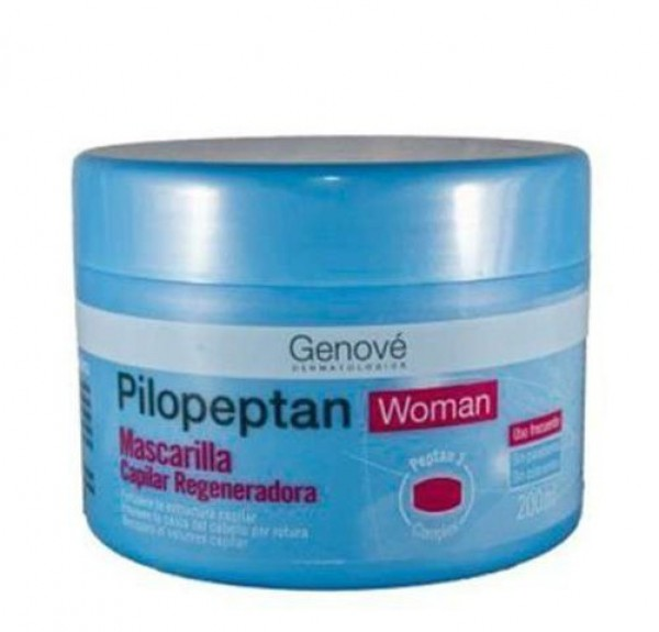 Pilopeptan Woman Mascarilla, 200 ml. - Genové
