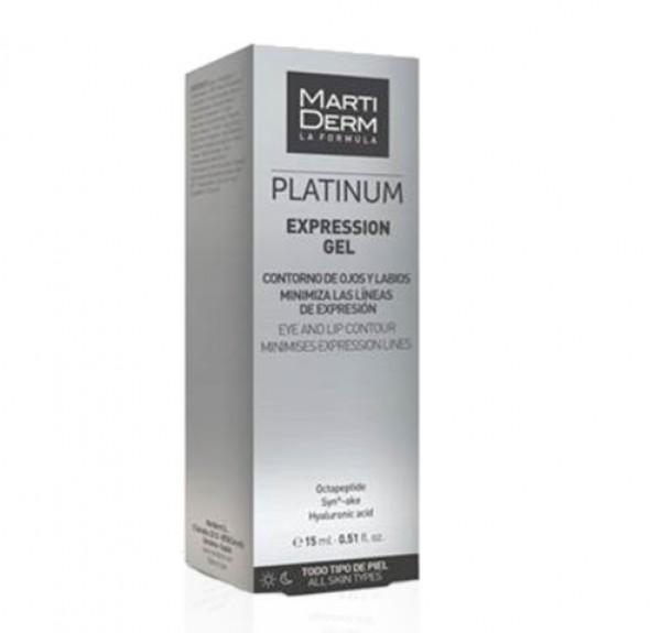 Platinum Expression Contorno De Ojos Y Labios, 15 ml. - Martiderm