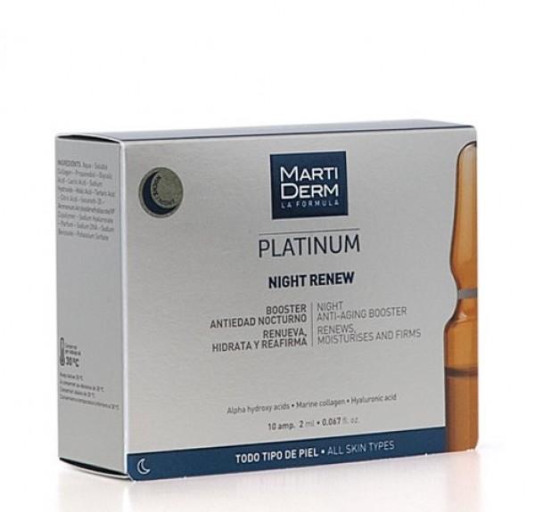 Platinum Night Renew ,10 Amp. - Martiderm