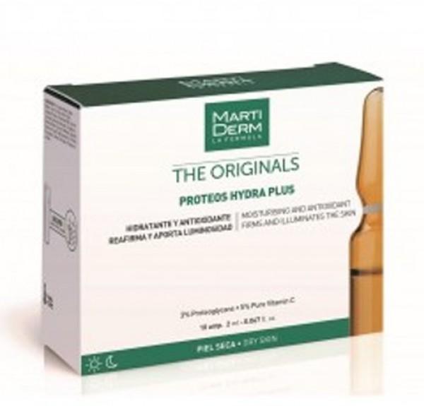 Proteos Hydra Plus, 10 ampollas - Martiderm