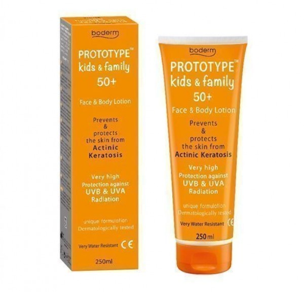 Prototype 50+ Kids & Family Lotion, 250 ml. - Olyan Farma