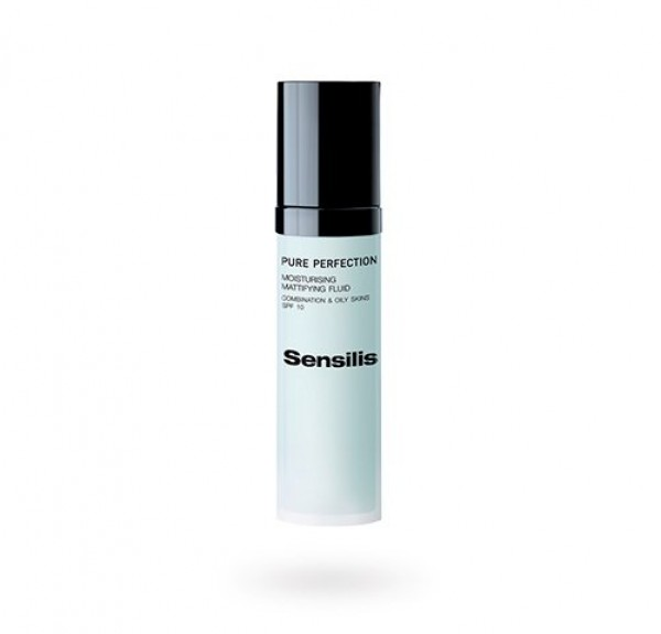 Pure Perfection Fluido Hidratante Matificante SPF10 Pieles Mixtas & Grasas, 50 ml. - Sensilis