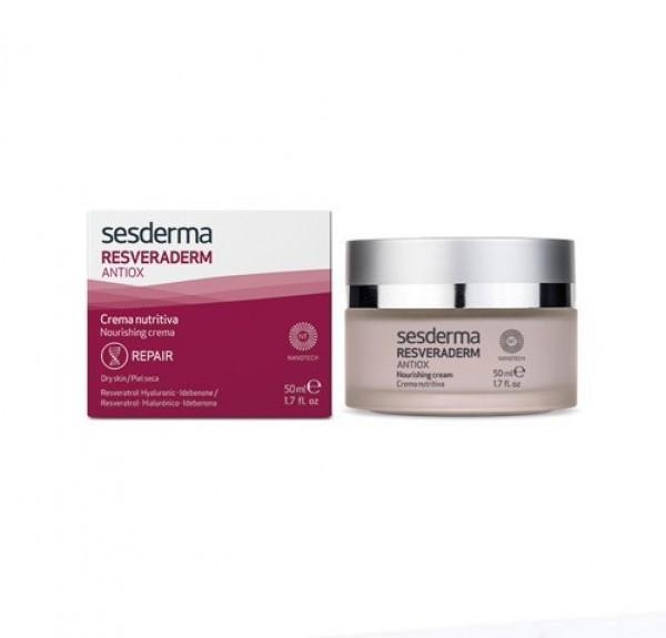 Resveraderm Antiox Crema Nutritiva, 50 ml. - Sesderma