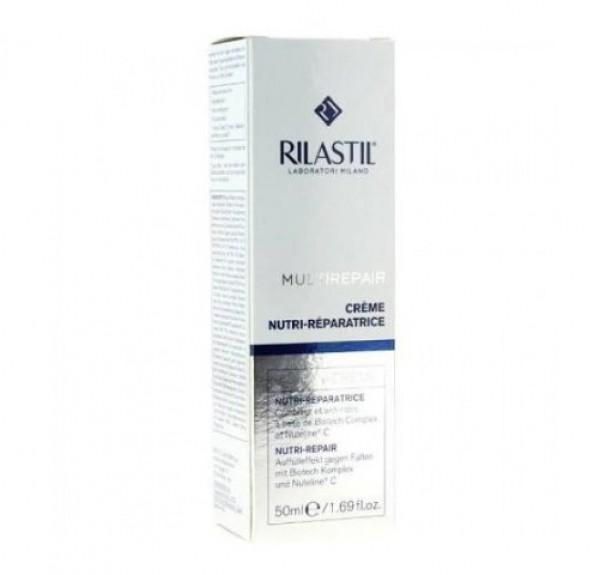 Rilastil Multirepair Crema Nutri- Reparadora, 50 ml. - Rilastil