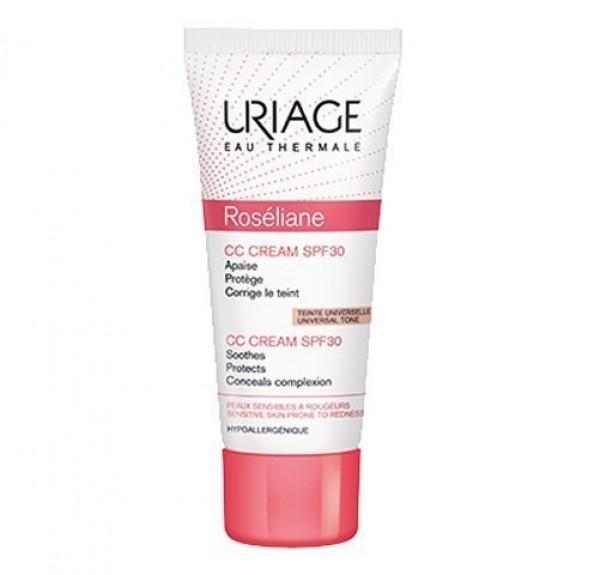 Roséliane CC Cream SPF30, 40 ml. - Uriage