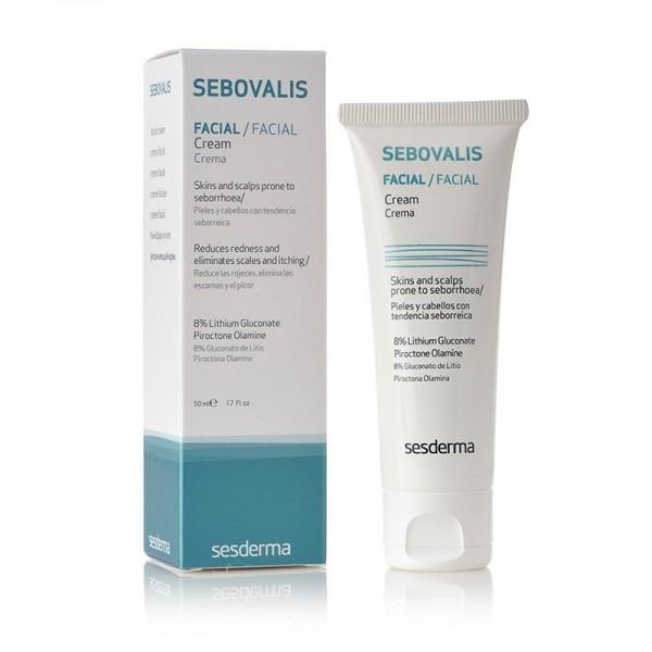 Sebovalis Crema Facial, 50 ml. - Sesderma