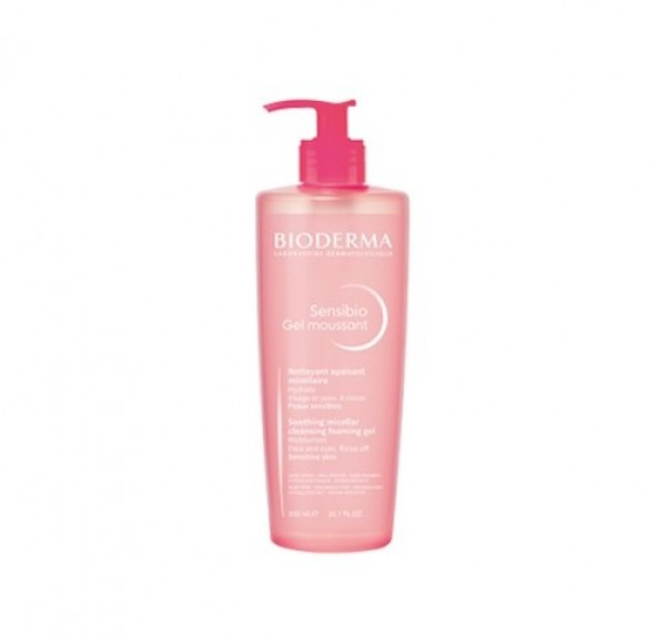 Sensibio Gel Moussant, 500 ml. - Bioderma