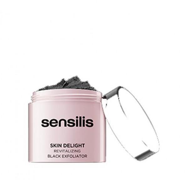 Skin Delight Peeling Negro Revitalizante, 75 ml. - Sensilis