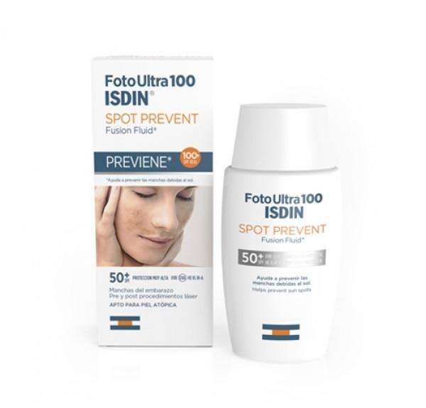 Spot Prevent Fusion Fluid SPF 100+, 50 ml. - Isdin