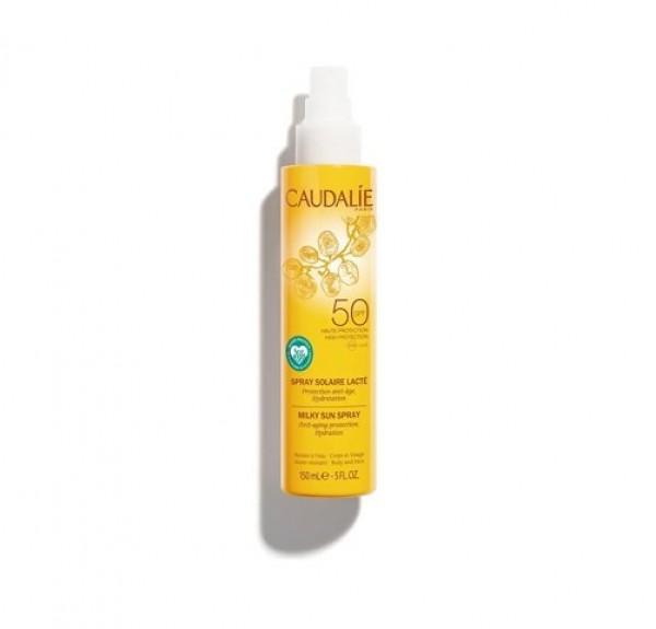Spray Solar Lácteo SPF 50, 150 ml. - Caudalie