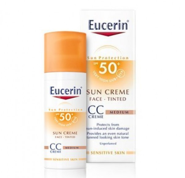 Sun Creme con color CC FP50+, 50 ml.. - Eucerin