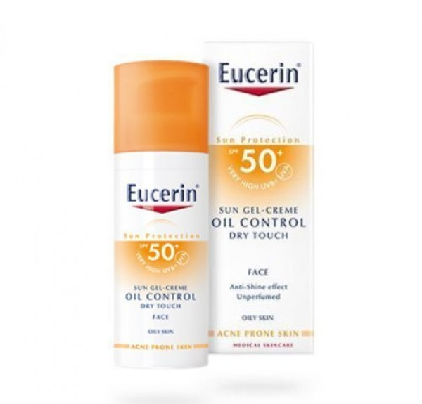 Sun Gel-Creme Oil Control Dry Touch FPS 50+, 50 ml.. - Eucerin