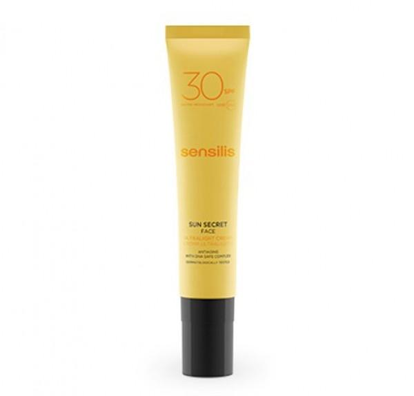 Sun Secret Crema Ultraligera Spf 30, 40 ml. - Sensilis