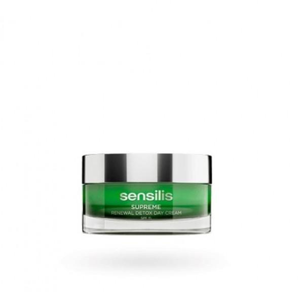Supreme Renewal Detox Day Cream  SPF15, 50 ml. - Sensilis
