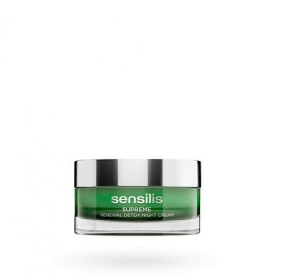 Supreme Renewal Detox Night Cream, 50 ml. - Sensilis