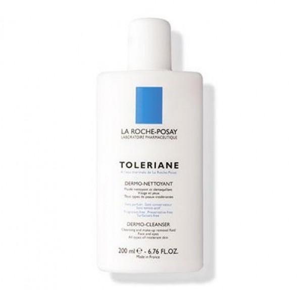 Toleriane Fluido Dermolimpiador, 200 ml. - La Roche Posay