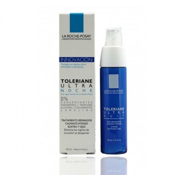 Toleriane Ultra Noche Reparador Calmante, 40 ml. - La Roche Posay