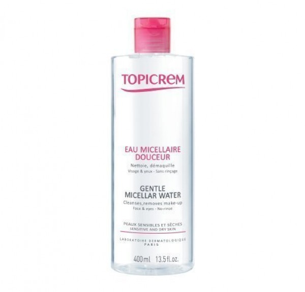 Topicrem Agua Micellar Pieles Sensibles, 400 ml. - Mayoly