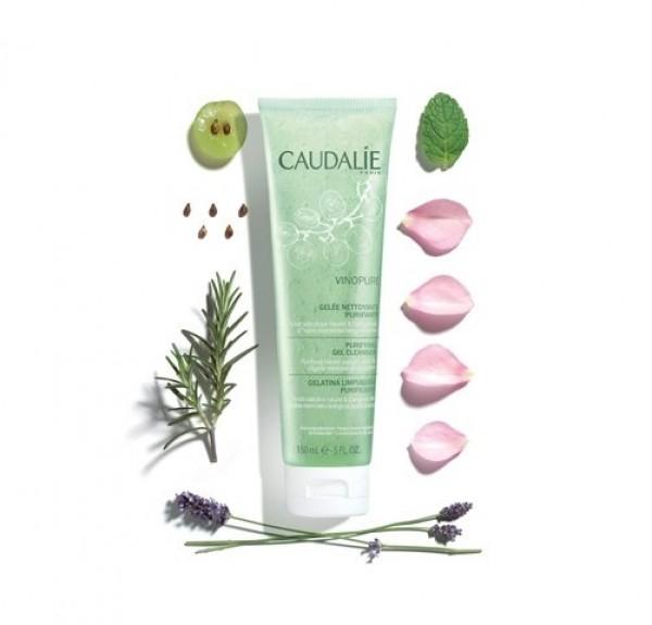 Vinopure Gelatina Limpiadora Purificante, 150 ml. - Caudalie