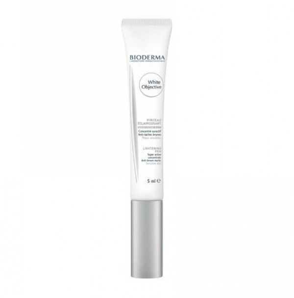White Objective Pincel Aplicador, 5 ml. - Bioderma