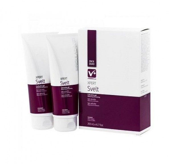 Xpert Svelt, 200 ml. + 200 ml. Pack Duo - Singuladerm
